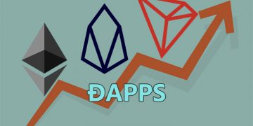 Ethereum, EOS and TRON based decentralized exchanges and blockchain games